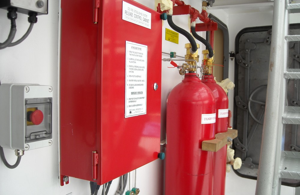 Paint Room Duct Fire Extinguishing System